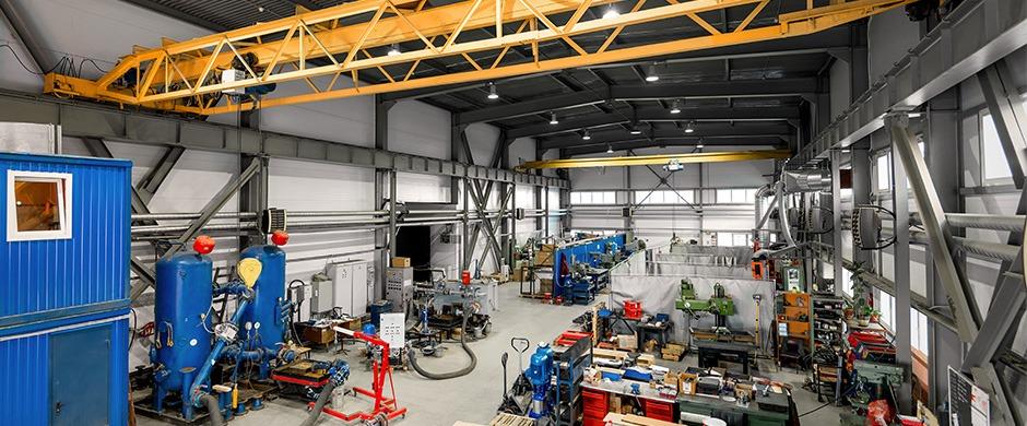 Фотосъёмка цехов и индустриальных объектов