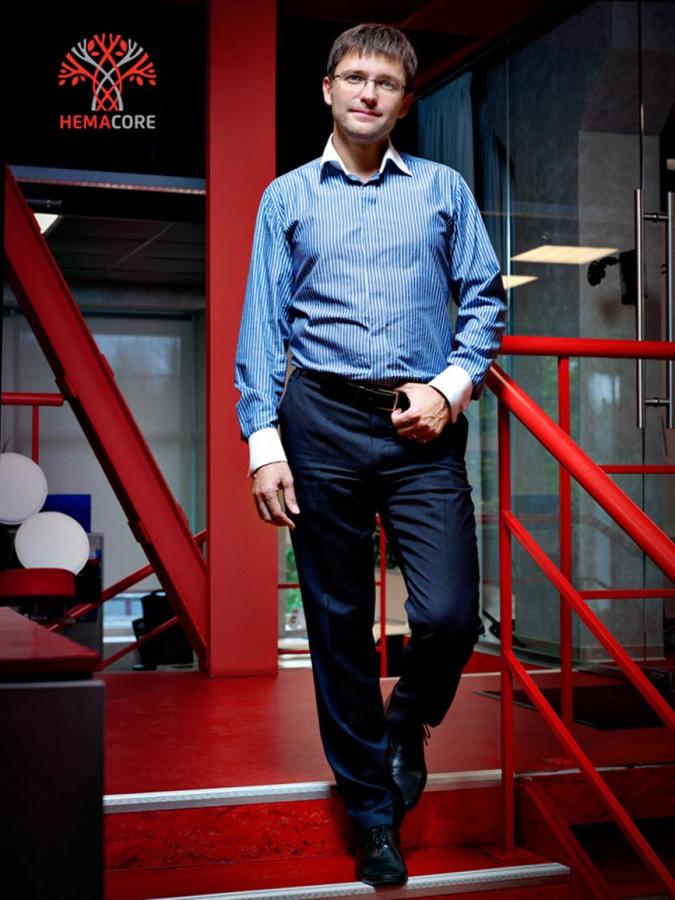 Игорь Пивоваров, генеральный директор компании «ГемаКор». Бизнес-портрет, фотограф Лена Волкова