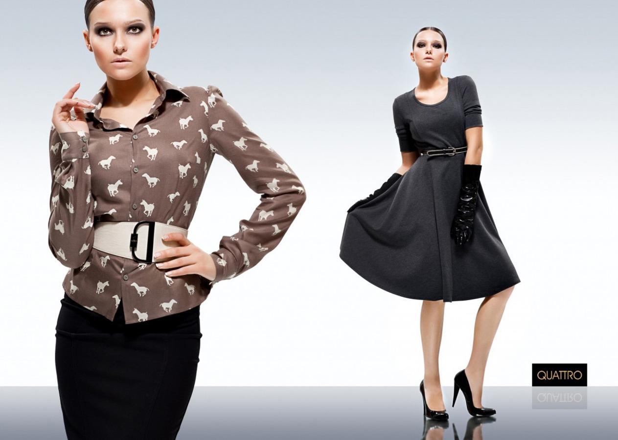 Cъемка для Quattro Fashion. Рекламная съемка, фотограф Лена Волкова